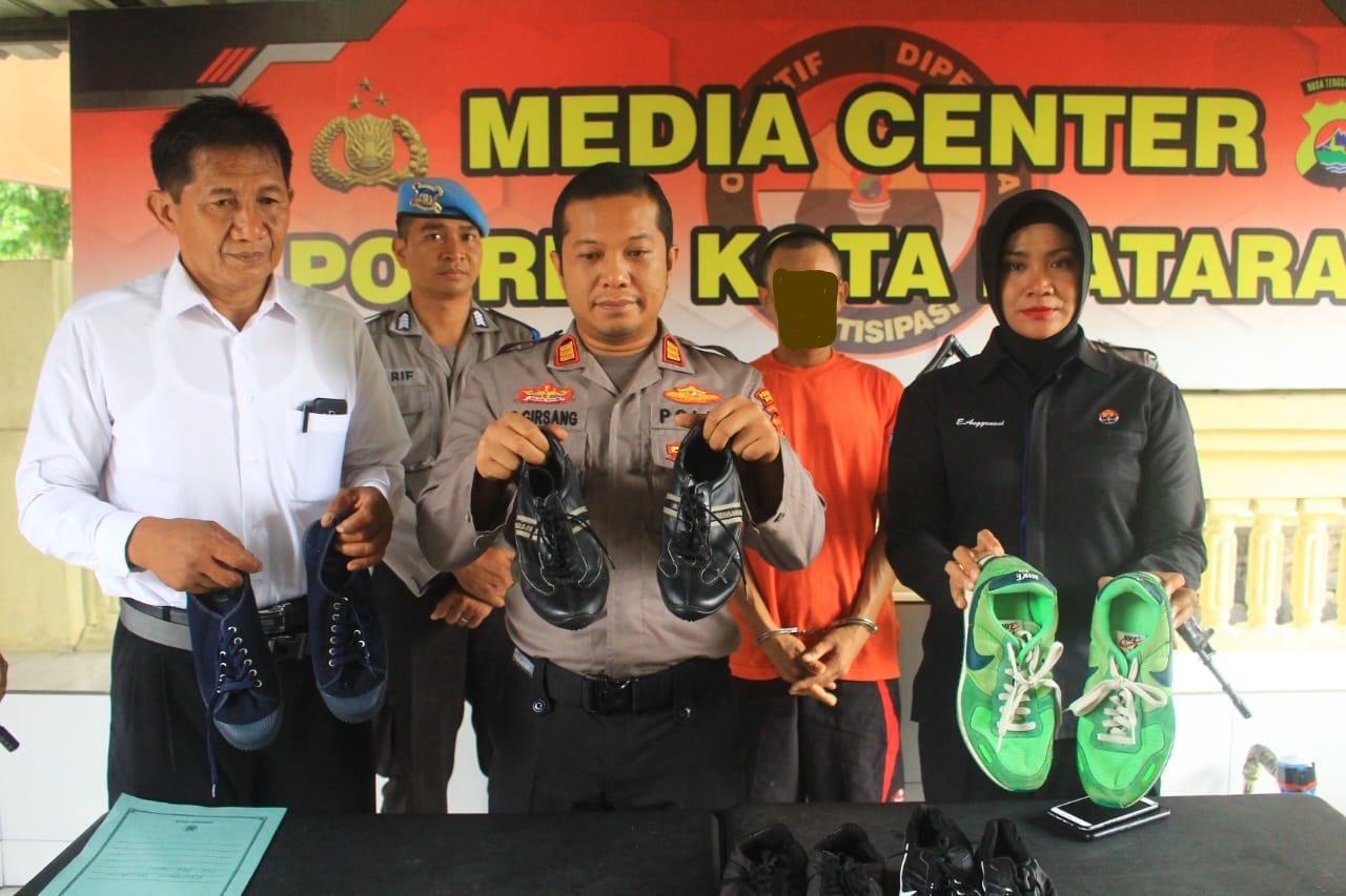 Cari Modal Buat Judi Nekat Mencuri Budi Diciduk Polisi Lombok Post