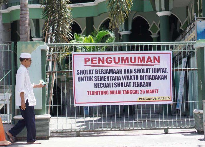 Bupati Lotim Minta Seluruh Masjid Ditutup Sementara | Lombok Post